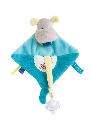 Babynat Baby'Nat Attache Tetine Super Doudous Hippopotame bn0288