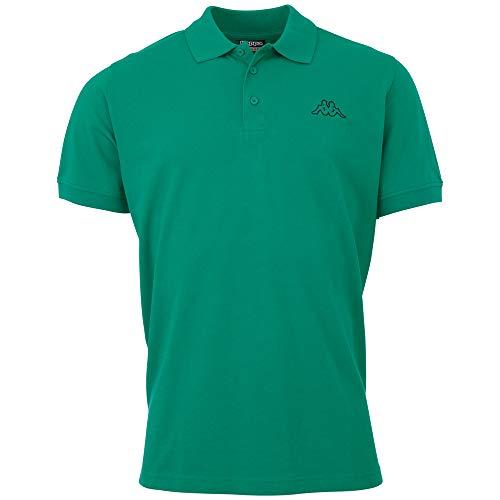 Kappa Herren PELEOT Poloshirt, green pepper, 3XL