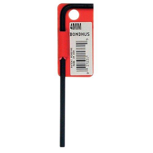 Bondhus 15988 19 mm Hex Tip clés mâles coudées avec finition Proguard, Étiqueté et pique-niques, Bras long
