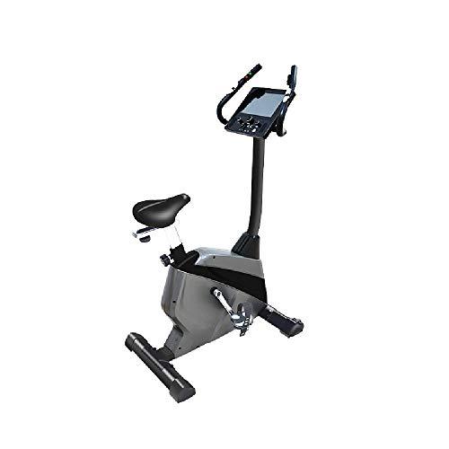 LFJY Intelligentes elektromagnetische Bedienung Spinning Bike Indoor Real-Life Interactive Dekomprimierung Cathartic Heimtrainer Heimtrainer,Black