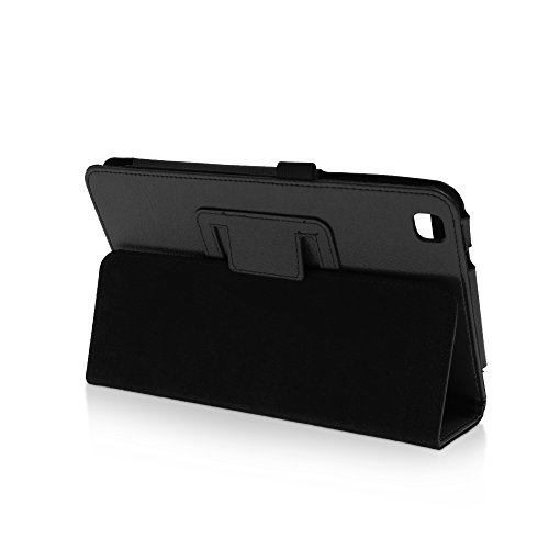 Klassische Hülle mit Standfunktion für Samsung Galaxy Tab 3 8.0 in SCHWARZ mit automatischer Sleep- und Wake-Up-Funktion [passend für Modell SM-T310, SM-T311, SM-T315]