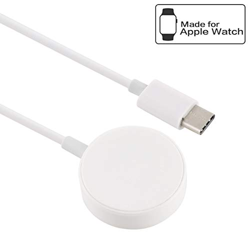 Fashion horloges Dfch 30cm Universal Portable Magnetic Draadloze oplader for Apple Watch Series 4 & 3 & 2 & 1 (wit) (Color : White)