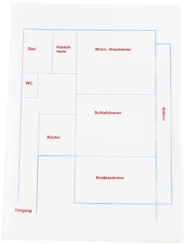Sattleford 100 Blatt Pergamentpapier für Laser/Inkjet-Drucker 90g/A4