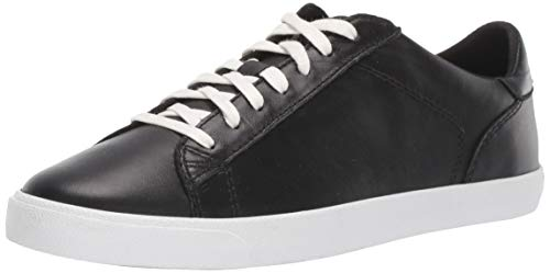 Cole Haan womens Carrie Sneaker, Black Leather, 5 US