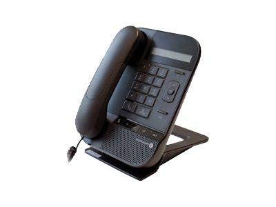 ALCATEL-Lucent 8012 DeskPhone Einstiegs-SIP-Gerät 3,5-mm-Headset-Anschluss 10/100/1000 PC-Port POE oder Stromanschlussbuchse