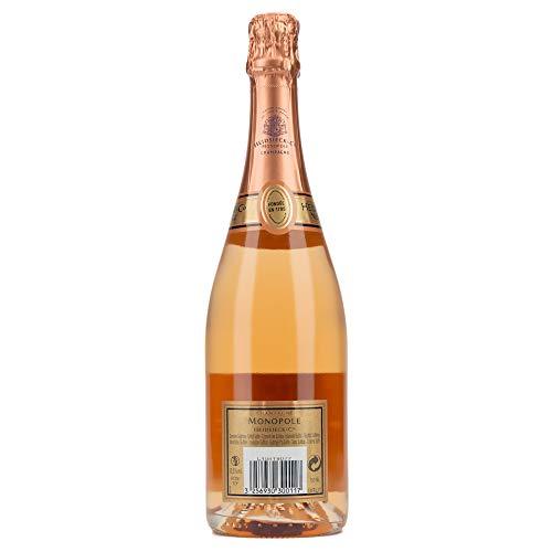 Heidsieck & Co. Monopole Rosé Top Brut Champagner mit Geschenkverpackung (1 x 0.75 l) - 3