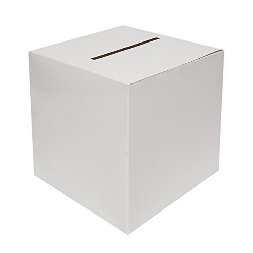 White Wedding Card Boxes 30cms x 30cms x 30cms