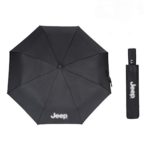 XCBW Auto Automatic Business Umbrella, Mode tragbare Outdoor Windproof Automatic Sun Beach Umbrella, für J-EEP Car Gadgets