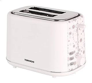 Tornado TT-852-C Toaster, 2 Slices, 720-850 Watt - White