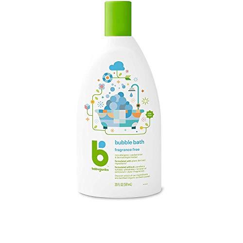 BabyGanics Extra Gentle Bubble Bath & Body Wash - Fragrance Free - 20 Ounce