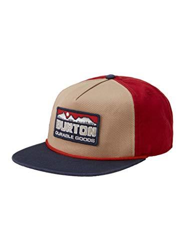 Burton Buckweed Hat Baseball Cap Tandori/Kelp/Dressblue