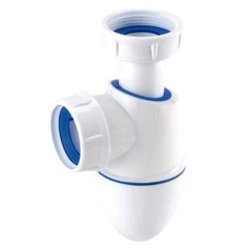 Nicoll Easyphon 0224286 92887 Siphon für Spüle, Durchmesser 40 BM552
