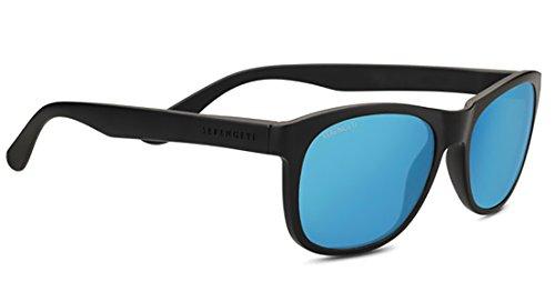 Serengeti Anteo Sunglasses Matte Black Medium Large Unisex