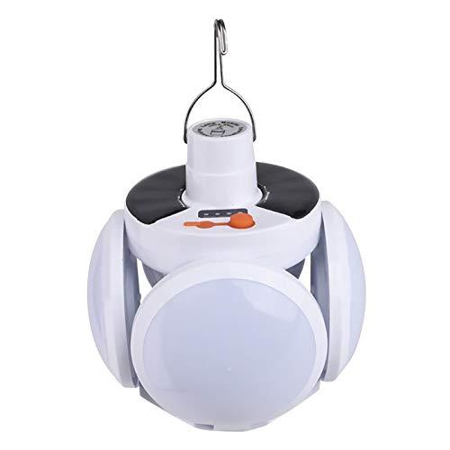 Sharplace Luz Solar de La Tienda de La Linterna LED de Las Luces Que Acampan Al Aire Libre para La Lámpara de Emergencia Que Acampa
