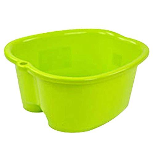 Fußpflege Bad Spa Kunststoff Wanne Fuß Einweichen Waschbecken Pediküre Detox Massage Füße Tragbares Waschbecken für Badezimmer Küche Waschbecken Faltbarer Eimer für Outdoor Camping