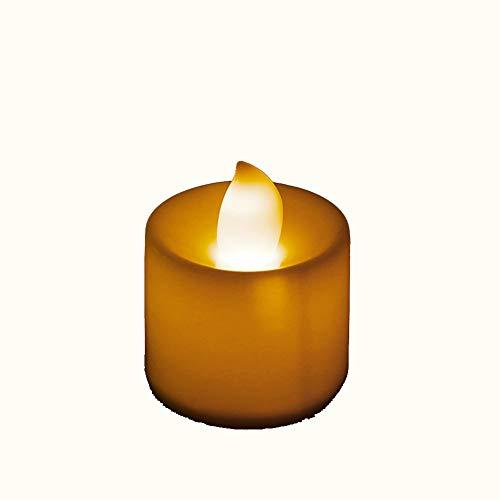 Nikunty lámparas Decoración Romántica Luz LED Vela Llama No Al Spa De Día Cena En Casa