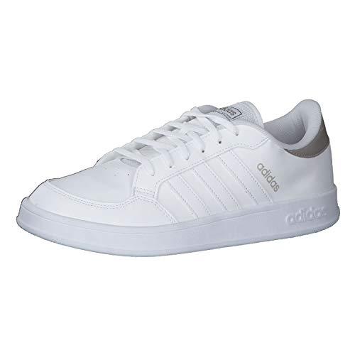 adidas BREAKNET, Zapatillas de Tenis Mujer, FTWBLA/FTWBLA/METCHA, 36 EU