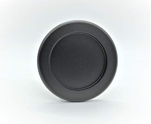 Tirador Inoxidable para puerta corredera cristal (Incluye adhesivo doble cara 3M). Venta por juegos de 2 uds.Grosor sólo 5 mm. (Negro)