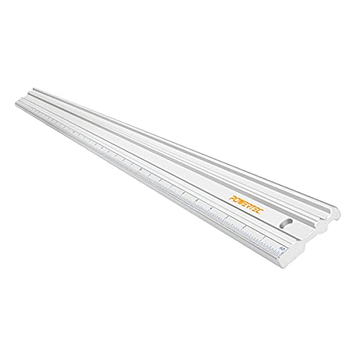 POWERTEC 71332 Anodized Aluminum Straight Edge Ruler | 38 Inch | Metal Straightedge Machined Flat to...