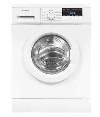 Exquisit Waschmaschine WA 8114-3 | Frontlader |8 kg Fassungsvermögen |weiß