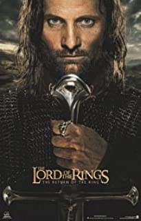 Return of the King Aragorn 22x34 Poster Viggo Mortensen Movie Art print