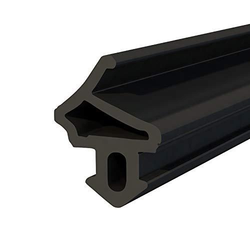 DQ-PP Fensterdichtung | Schwarz | 10 Meter | S-1172 Aluplast | PVC Fenster | Gummidichtug Dichtung Dichtband | Kunststofffensterdichtungen | ALU Profildichtung Türdichtung