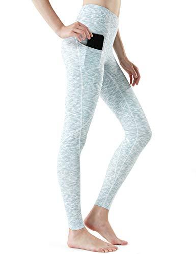 TSLA High Waist Yoga Pants with Pockets, Tummy...