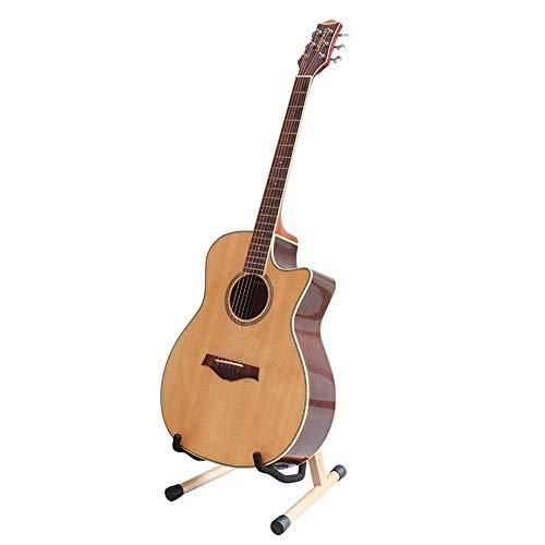 Golden.Y Soporte De Guitarra Plegable Portátil Desmontable Haya Soporte Soporte Instrumento Musical Suministros approving