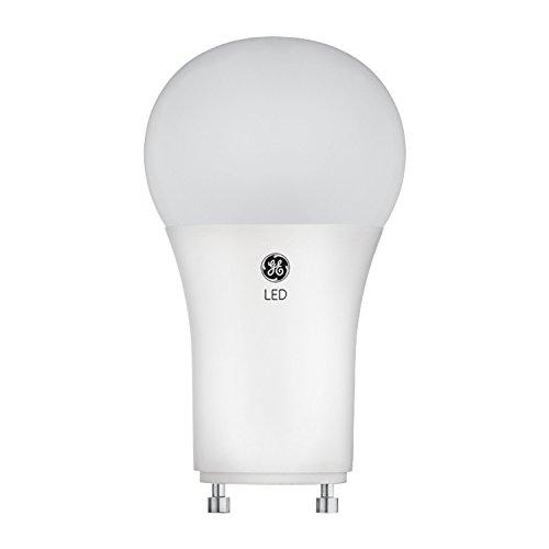 GE Relax HD LED Light Bulbs, 60W Replacement, A19, 1-Pack, Soft White, GU24 Light Bulb, Dimmable