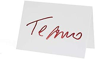 Cartão Fabriano Te Amo Branco, Teca, Ge0003, Branco
