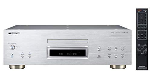 Pioneer PD-70AE(S) CD-/SACD-Player (mit höchster Klangqualität und Verarbeitung, Voll-Aluminiumgehäuse, Doppel-D/A-Wandler ESS9026PRO) silber