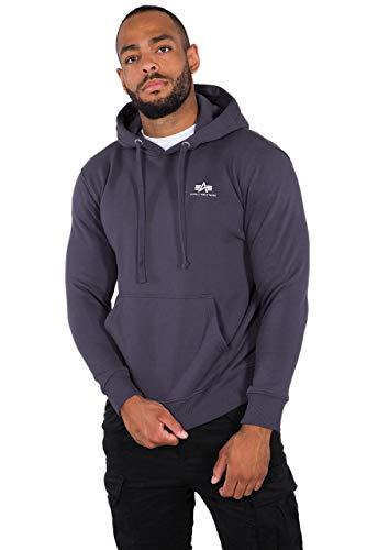 Preisvergleich Produktbild Alpha Industries Alpha Basic Small Logo Hoodie Dunkles Violett XXL