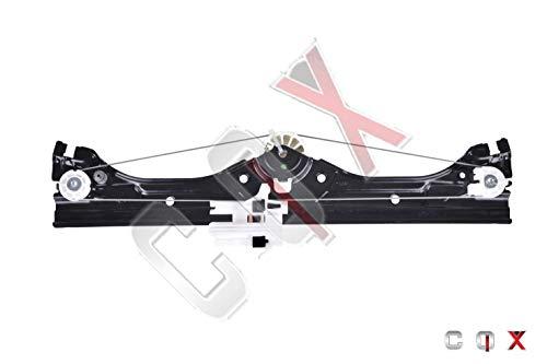 CQX Lève-vitre Avant Droite Fiat 500(312) 2007-2012 pour 2 Portes 51889364, 51876269