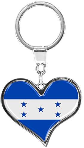 metALUm Llavero de metal/Bandera Honduras / 6611090S