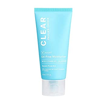 Paula s Choice CLEAR Oil-Free Moisturizer Lightweight Face Moisturizer for Acne-Prone Skin Pore-Minimizing Niacinamide Soothing Antioxidants Ceramides to Calm Redness