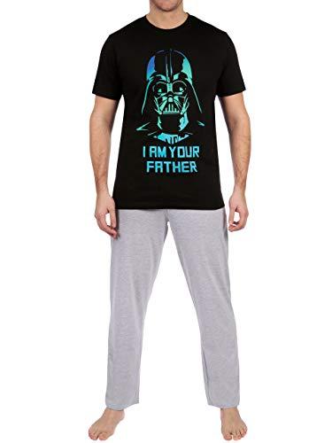 Star Wars Pijama para Hombre La Guerra de Las Galaxias Darth Vader Multicolor Size Large