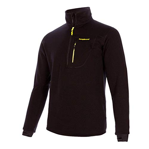 Trangoworld Trx2 Stretch Pro Pullover, Hombre, Negro/Negro, S