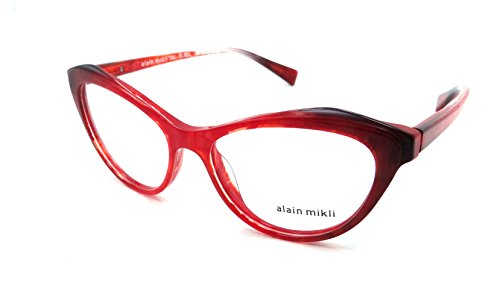 Alain Mikli Brillen 0A03061 RED BLACK Damenbrillen