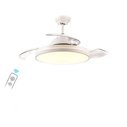 lights Decorativo de la lámpara de Techo Ventilador de Techo Interior Ilumina la Personalidad Invisible iluminación Pendiente Luz inversor Hogar-T (106 38cm)