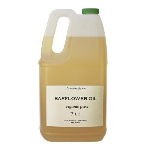 Cártamo aceite alta oleic orgánico 100% puro 128oz/7LB/un galón
