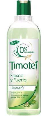 Timotei - Champú Fresco Y Fuerte Hierbas - 400 ml - [paquete de 4]