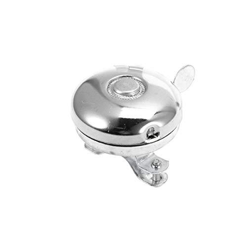 Abaodam - Campanello per bicicletta in metallo con campanella classica per manubrio e corno di allarme per adulti, uomo, donna, bici per bambini (bianco)