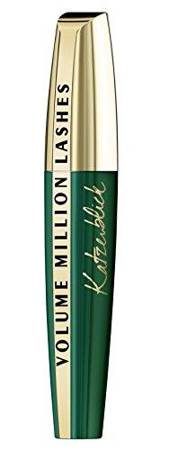 L'Oréal Paris Volume Million Lashes Katzenblick in schwarz, Mascara für extra definierte und bis...