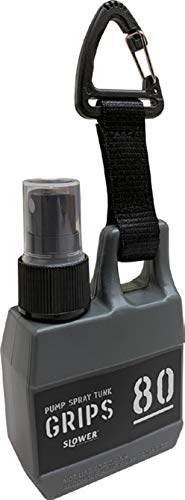 SLOWER スプレーボトル スプレー容器 アルコール対応 遮光 携帯 フック付き PUMP SPRAY TANK Grips GRAY グレー - SLW251 中
