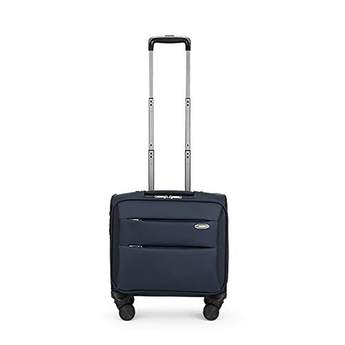 Rolling Briefcase Rolling Laptop Bag Computer Case with Wheels Spinner Mobile Office Carry On Luggage for Business Notebook (Color : B, Size : 41 * 23 * 44)