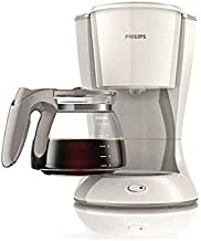 Philips/Coffee Maker/With glass jug/Silk Beige/White