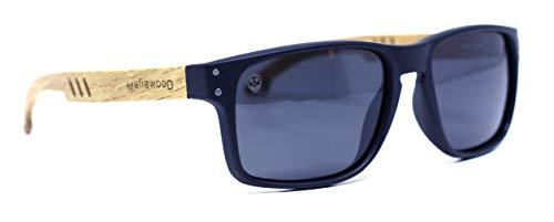 Óculos de Sol Cascio, Mafia Wood Exclusive Wear, Adulto Unissex, Bege, M