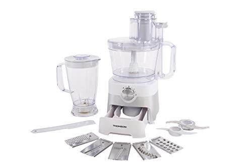 THOMSON Mixer Küchenmaschine (3,5 Liter) - Küchenmixer multifunktional zum Reiben, Raspeln, Mixen & Schneiden - Multifunktionsküchenmaschine kompakt