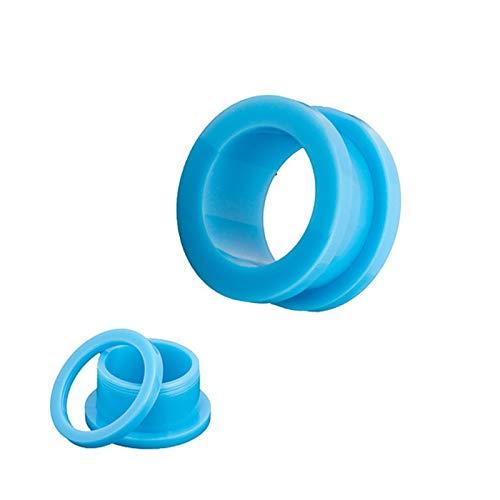 Accesorios de joyería 10pcs / lot falsos tramposo acrílico tapones for los oídos y túneles ampliador del oído del ensanchador del oído de la joyería Kit Tragus piercing conjunto de cuerpo 9 Tamaños Pe