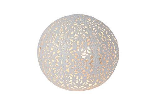 Lucide PAOLO - Tischlampe - Ø 14,5 cm - 1xG9 - Weiß